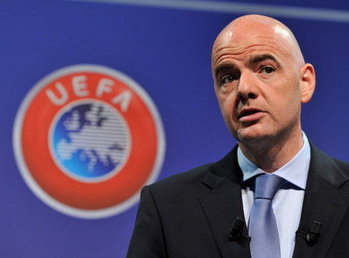 Infantino: 'I'm going to win the election for President of FIFA.'
