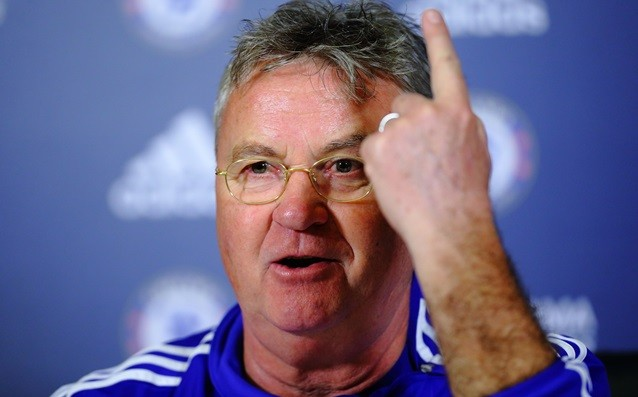 Hiddink: 'The red card made the match easier for us.'