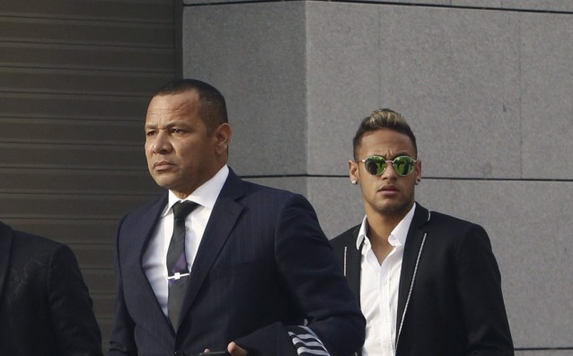 Santos' lawyer: 'Neymar lied to us.'