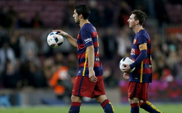 Barca has exceeded the number of 100 goals during the season