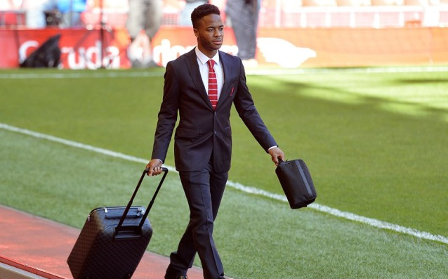 Sterling became a neighbour of Sir Alex