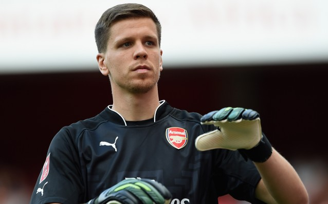 Szczęsny is mad at the media