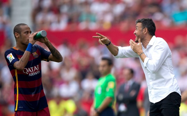 Luis Enrique recommended to Neymar: 'Fix the problems.'
