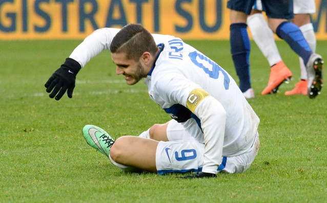 Icardi is questionable for the clash against Fiorentina
