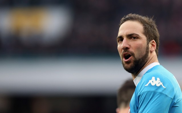 Higuain: 'We need to remain firmly set foot on Earth.'