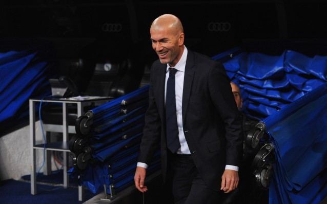 Zidane surrounded himself with friends in Real