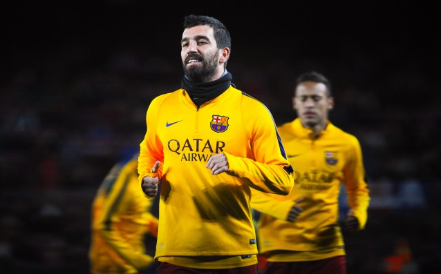 Arda Turan is with a bothersome injury