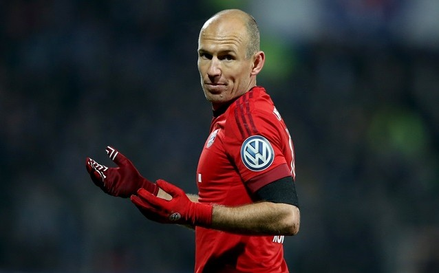 Robben: 'Pep didn't ask me to follow him at City.'