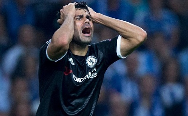 The nose of Diego Costa is broken