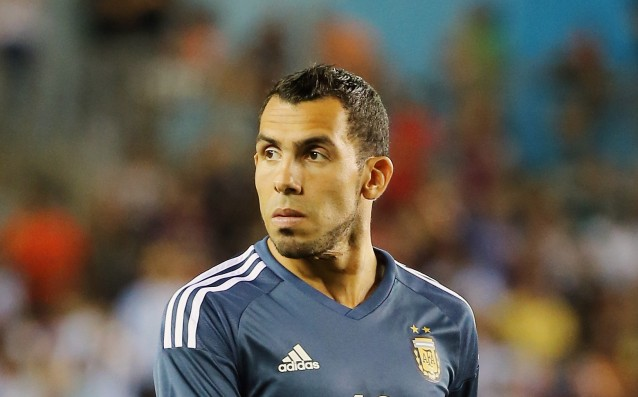 Tevez turned down 25 million from a Chinese team