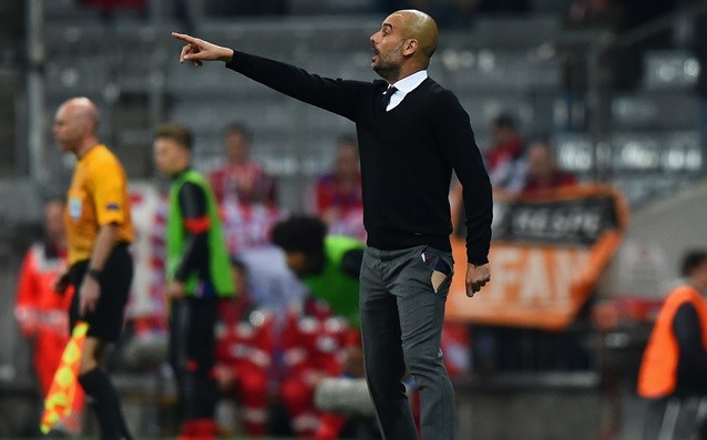 Pep has had his first conflict with the leadership of Man City