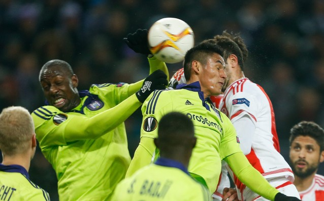 Anderlecht with a fragile advance against Olympiakos