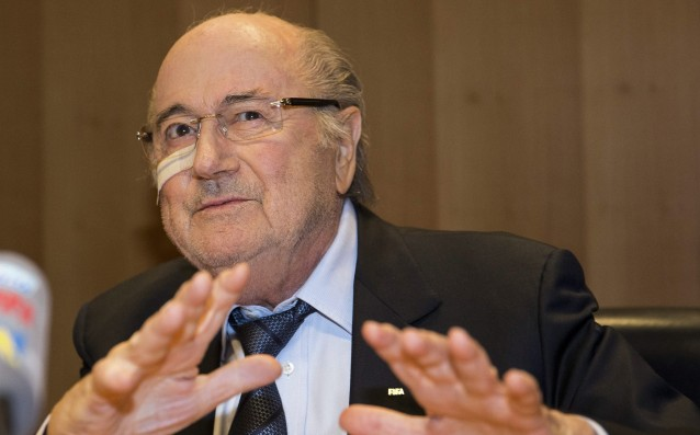 Blatter would not support either of the candidates for FIFA