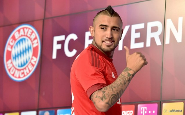 Vidal refused to Manchester United