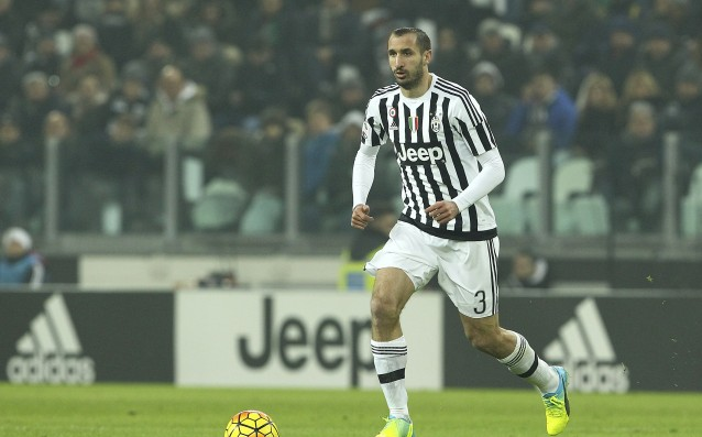 Juve without Chiellini against Bayern