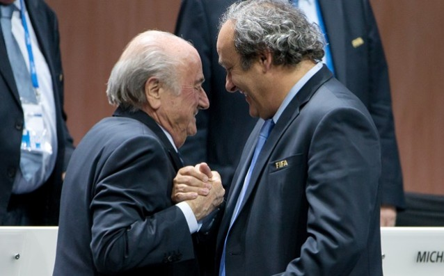 The penalties of Blatter and Platini were reduced