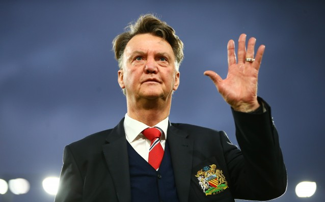 Van Gaal is happy: 'The fans saw attacking football.'