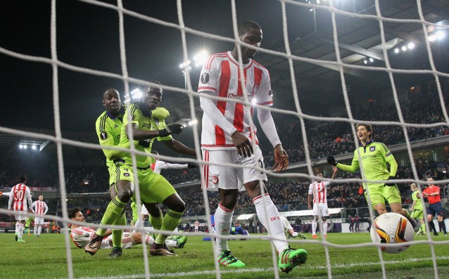 Anderlecht threw Olympiakos after extra time