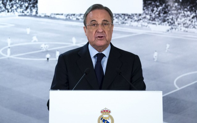 Florentino Perez planned withdrawal