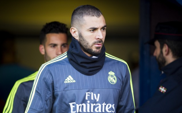 Benzema will be out for the second leg against Roma