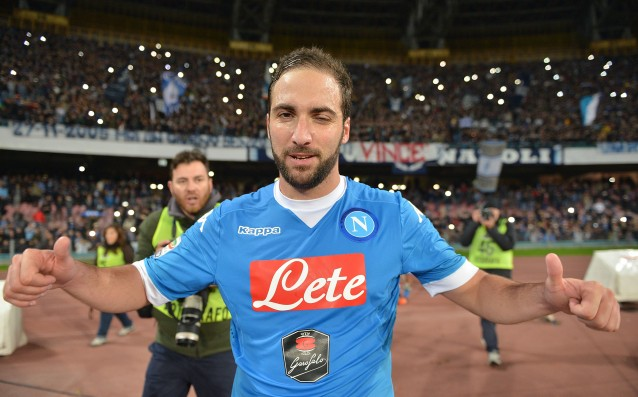 Gonzalo Higuain refused to re-sign with Napoli