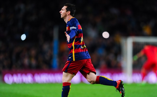 Messi has reached the elevation of 30 goals in eight consecutive seasons