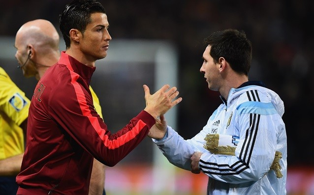 Messi: 'I admire Ronaldo but nothing more.'