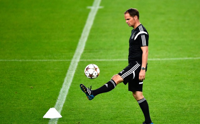 Frank de Boer is injured, he will undergo surgery