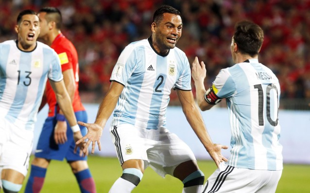 Argentina overcame Chile in world qualification