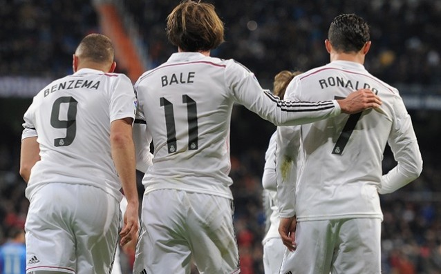 Real without success over Barca with the trio Ronaldo-Bale-Benzema