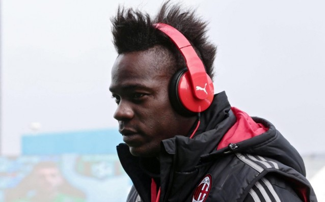 Balotelli's agent: 'I just want he to get back his smile.'