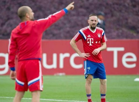Ribery revealed the greatest desire of Guardiola