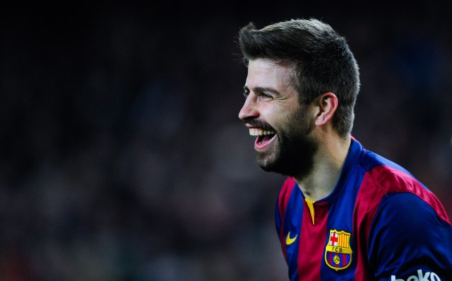 Gerard Pique again joked with Real Madrid