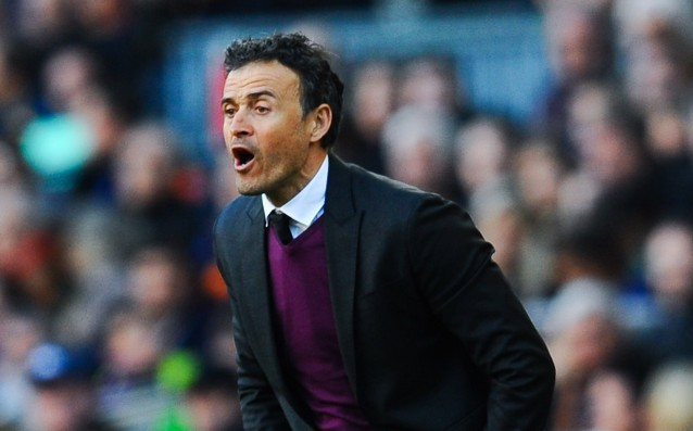 Luis Enrique: 'I have complete confidence in my players.'