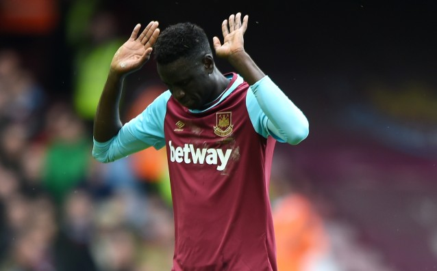 Kouyate will be on line for the derby against Arsenal