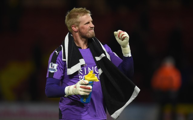 Kasper Schmeichel: 'The struggle for survival is hard.'