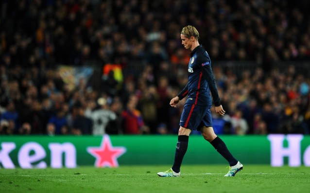 Torres: 'I'm to blame for the loss.'