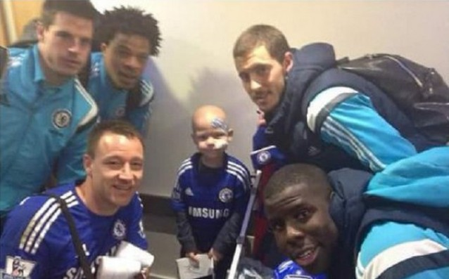 John Terry with a big gesture to the family of a deceased 8-year fan of Chelsea