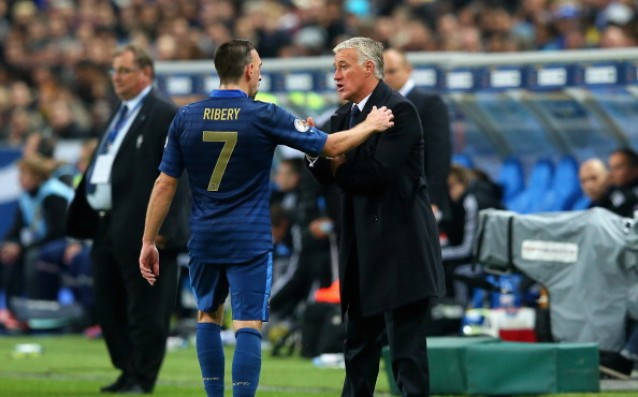 Ribery wants to meet with Deschamps