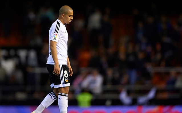 Player of Valencia refused to train