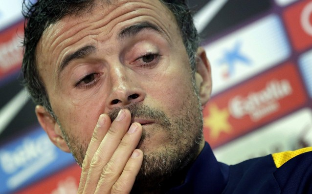 Luis Enrique: 'We needed such a convincing victory.'
