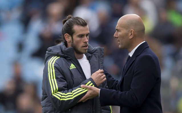 Zidane is mad at Bale