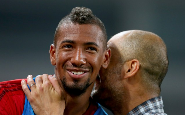 Boateng is hoping to play against Atletico Madrid