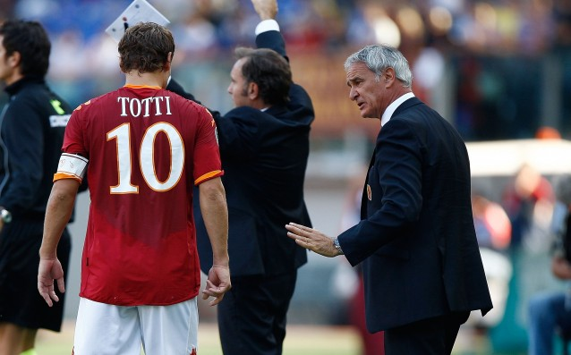 Ranieri is looking for Totti, offers him a contract in Leicester