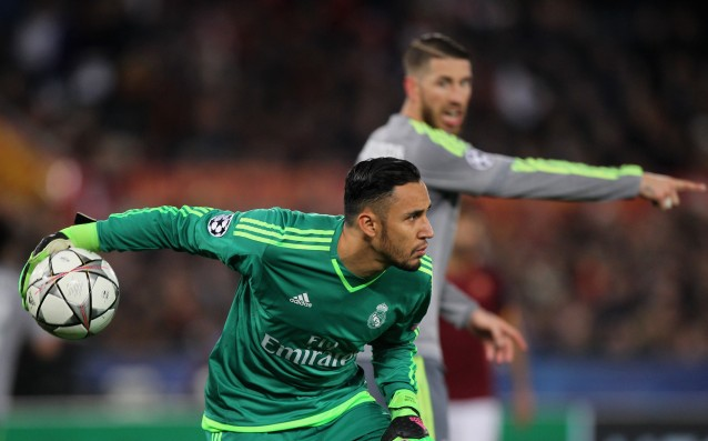 Navas with a new club record