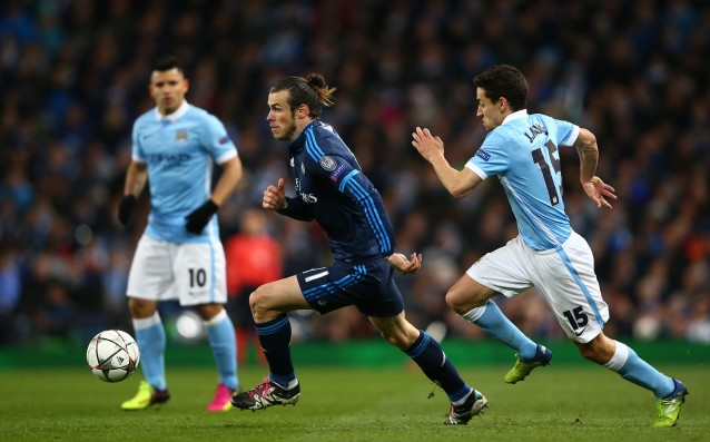 Bale ignored the absence of Ronaldo vs. Man City