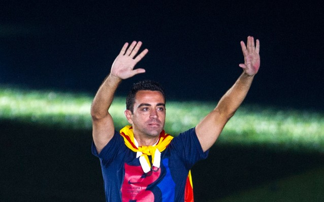 Xavi is not sure he's going to be a coach