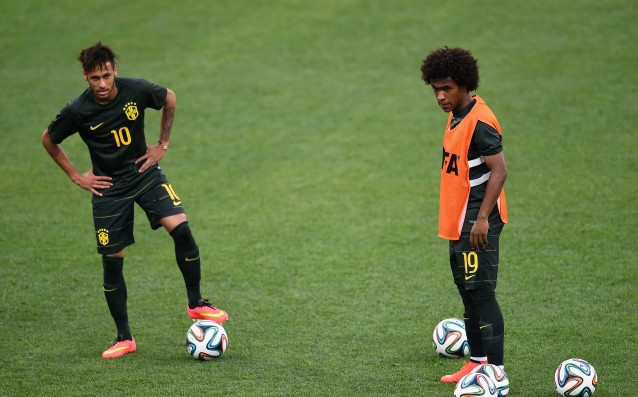 Neymar, Willian and Miranda will play at the Olympics