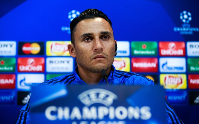 Navas leveled the record in the Champions League