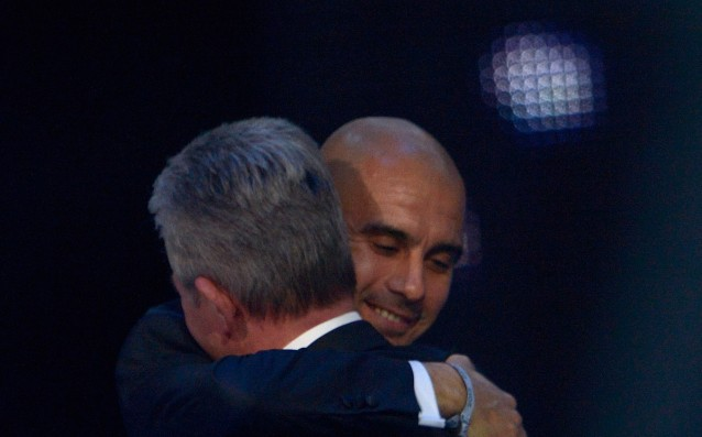 Heynckes: 'Pep deserves credit for the successes with Bayern.'